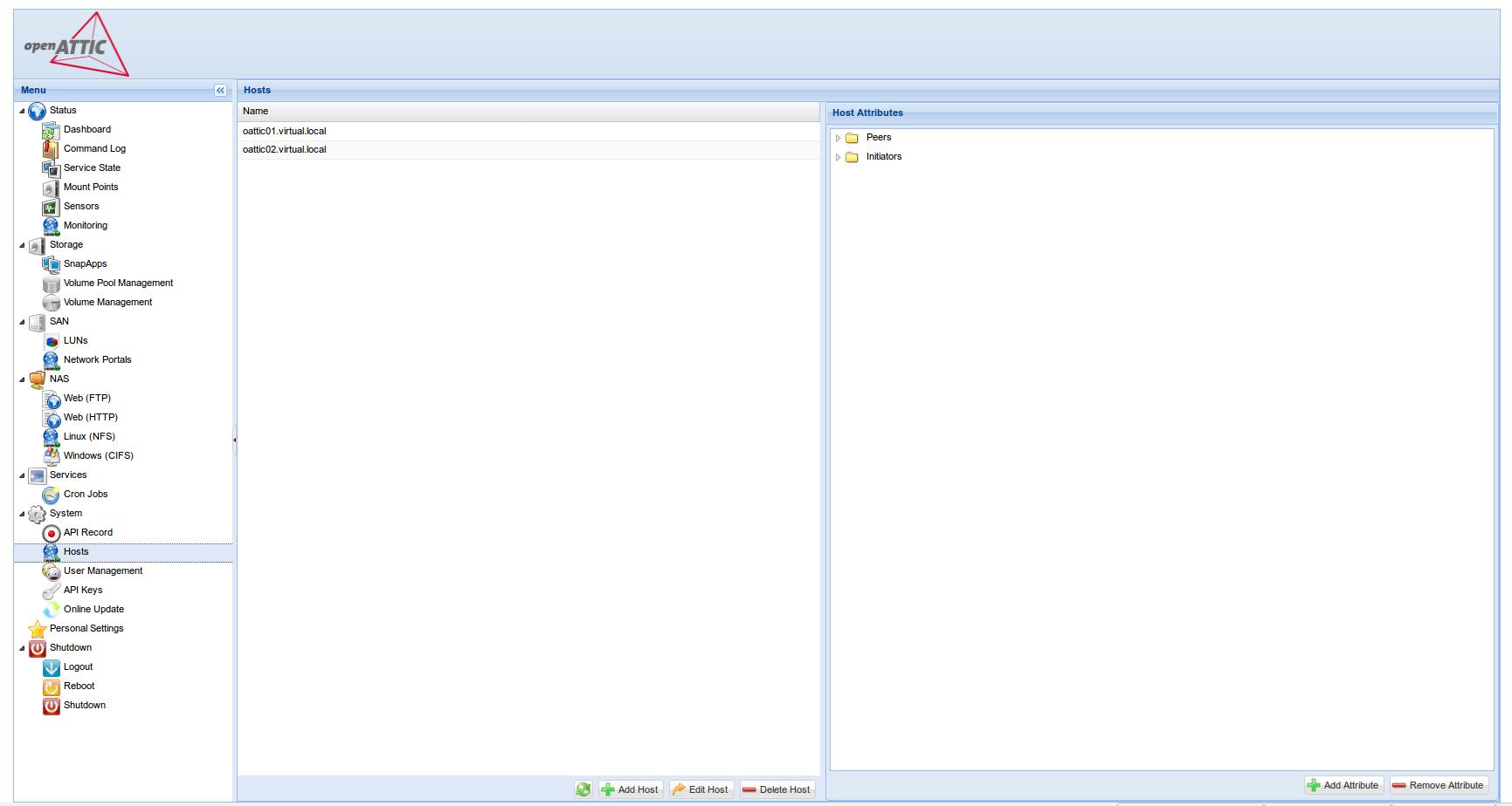 OpenATTIC 2-node cluster setup - DevOps