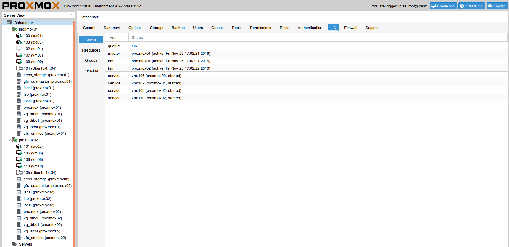 HA Features in Proxmox PVE cluster and final words - DevOps